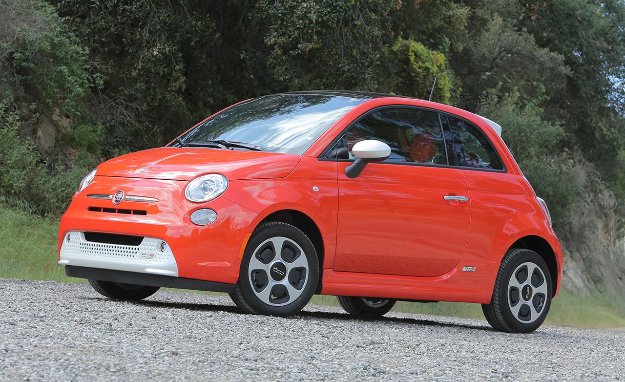 2015 FIAT 500e Exterior Preview