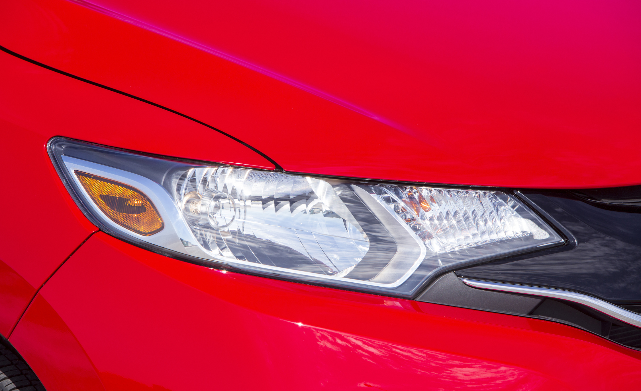 2015 Honda Fit Exterior Headlight