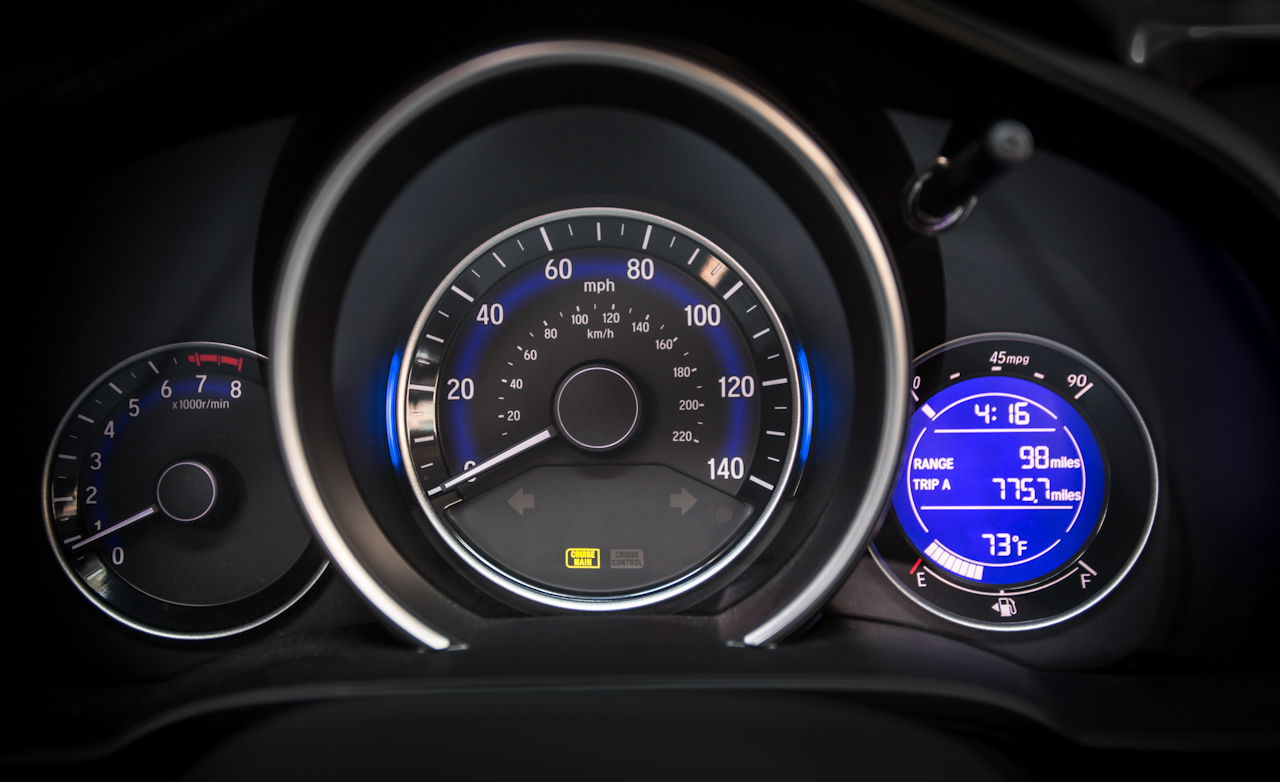 2015 Honda Fit Interior Speedometer