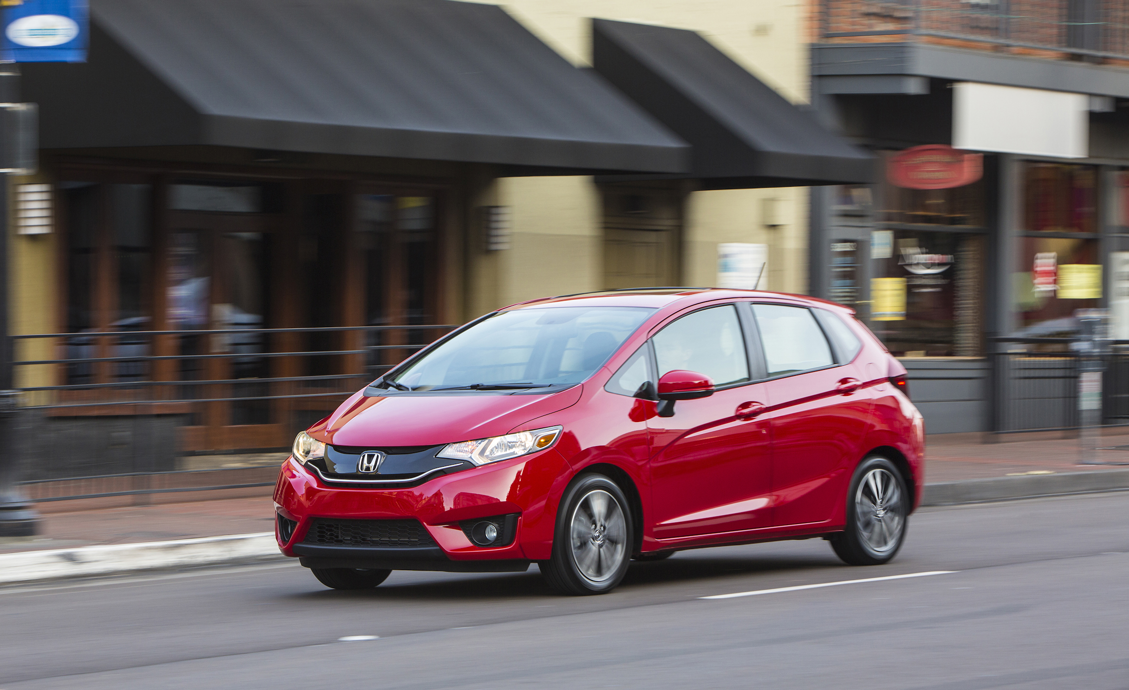 2015 Honda Fit Red