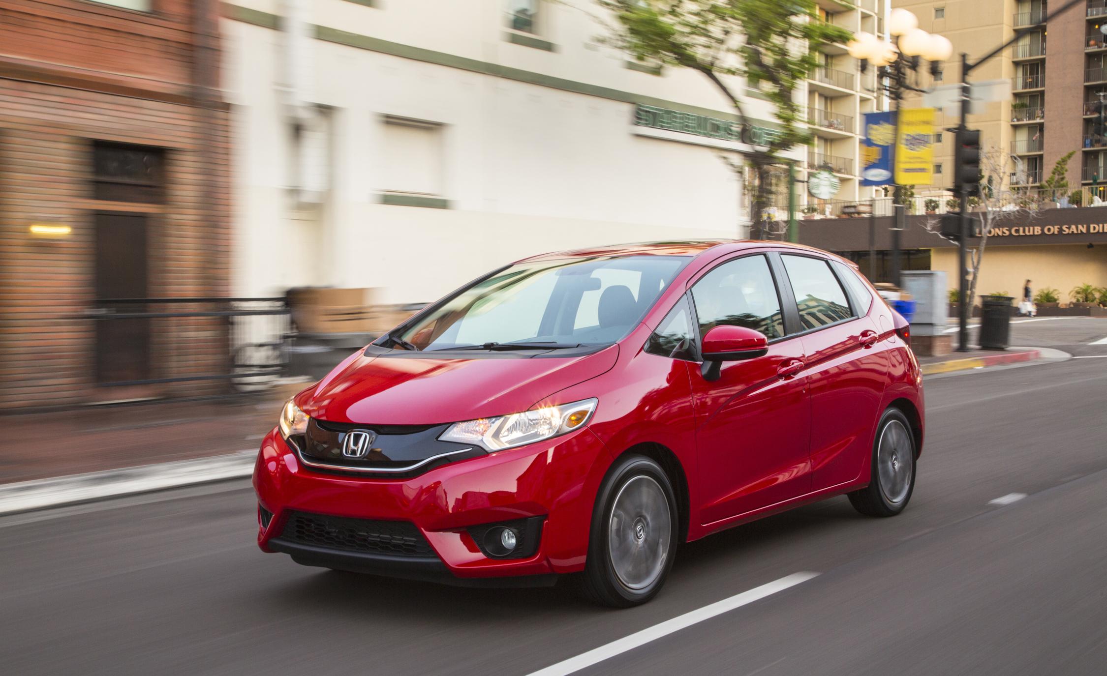 2015 Honda Fit Test Drive