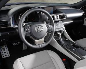2015 Lexus RC350 F Sport Cockpit Interior