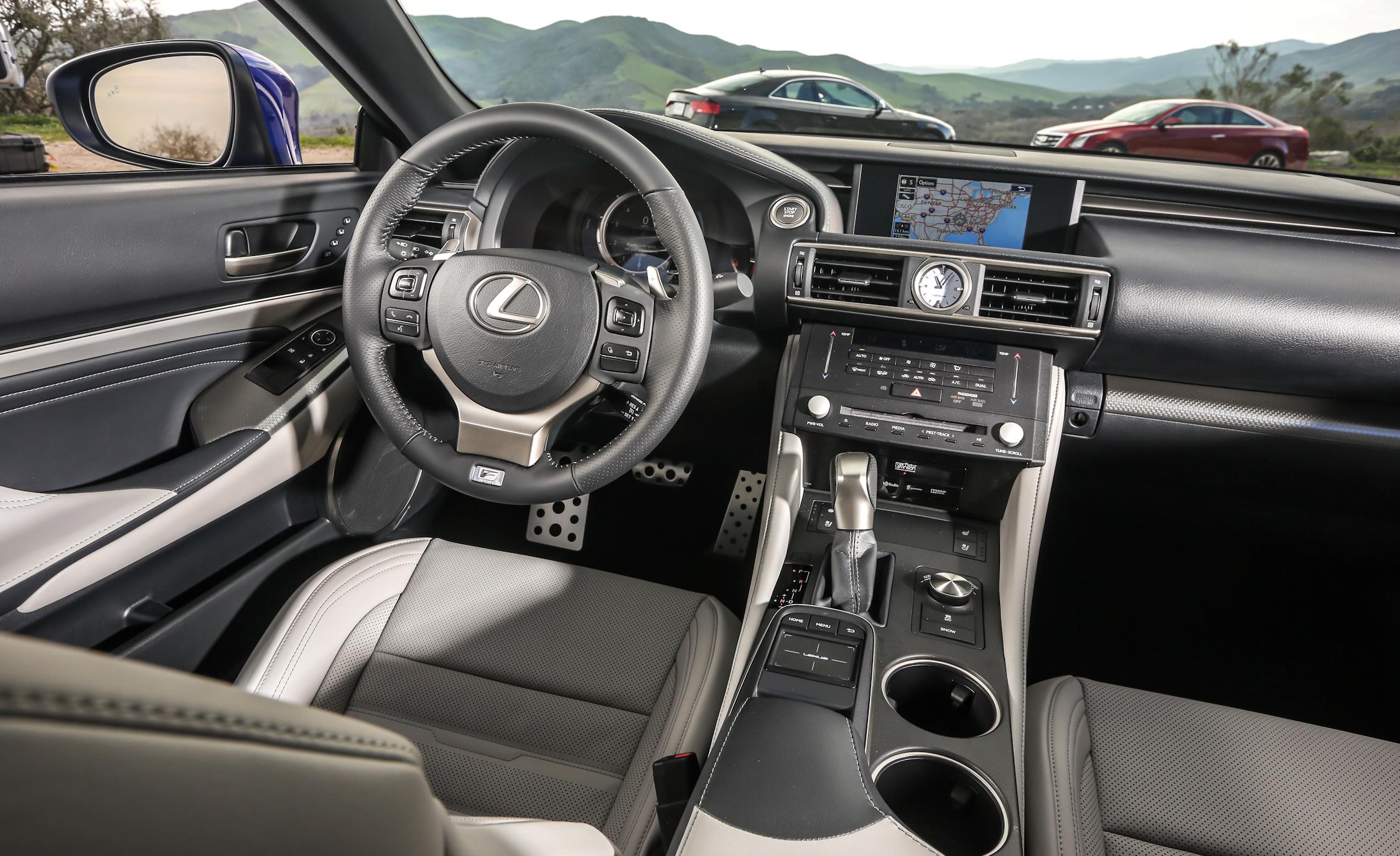 2015 Lexus RC350 F Sport Cockpit and Dashboard
