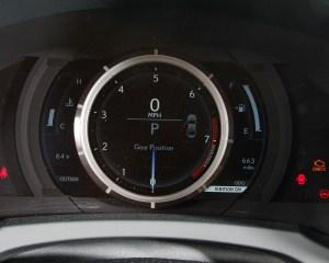 2015 Lexus RC350 F Sport Speedometer