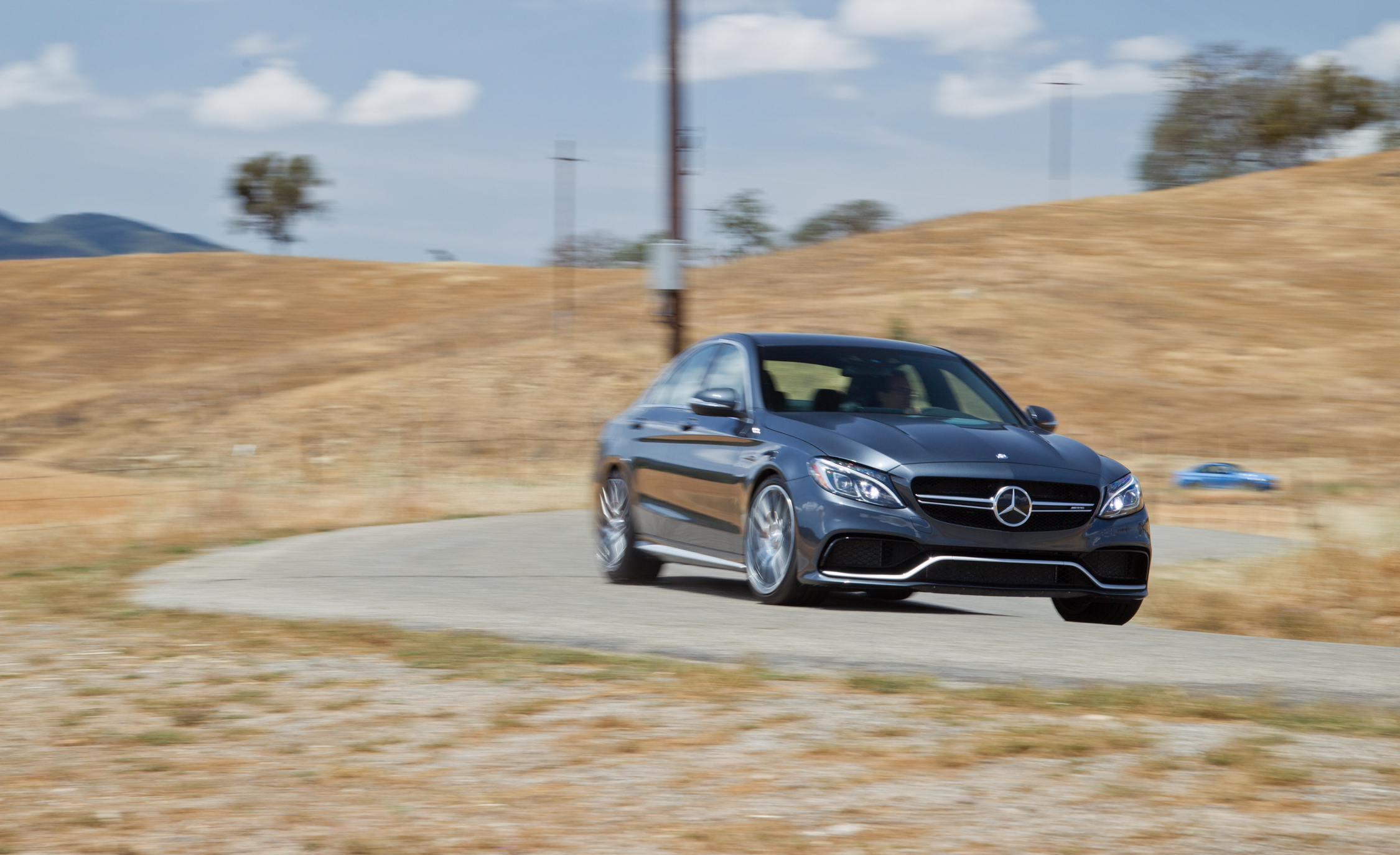 2015 Mercedes-AMG C63 S-Model Front Side Exterior