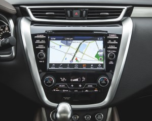 2015 Nissan Murano Platinum AWD Interior Center Head Unit