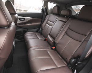 2015 Nissan Murano Platinum AWD Interior Rear Passenger Seats