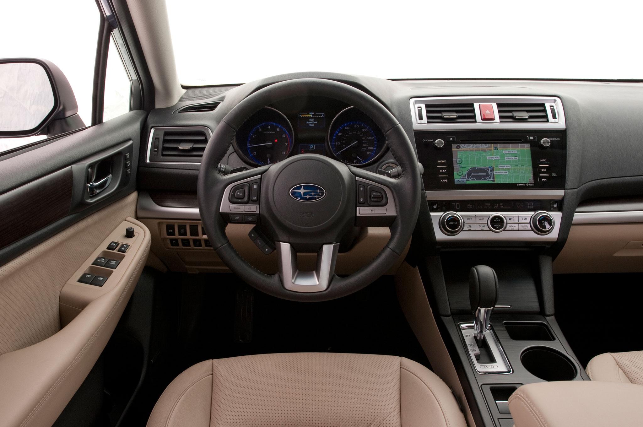 2015 Subaru Legacy 2.5i Limited PZEV Cockpit Interior