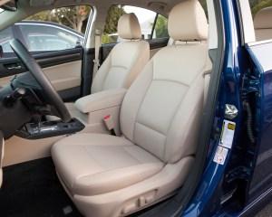 2015 Subaru Legacy Cockpit Seat Interior