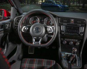 2015 Volkswagen GTI Cockpit Streering Wheel