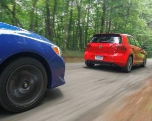 2015 Volkswagen GTI Rear Side Design