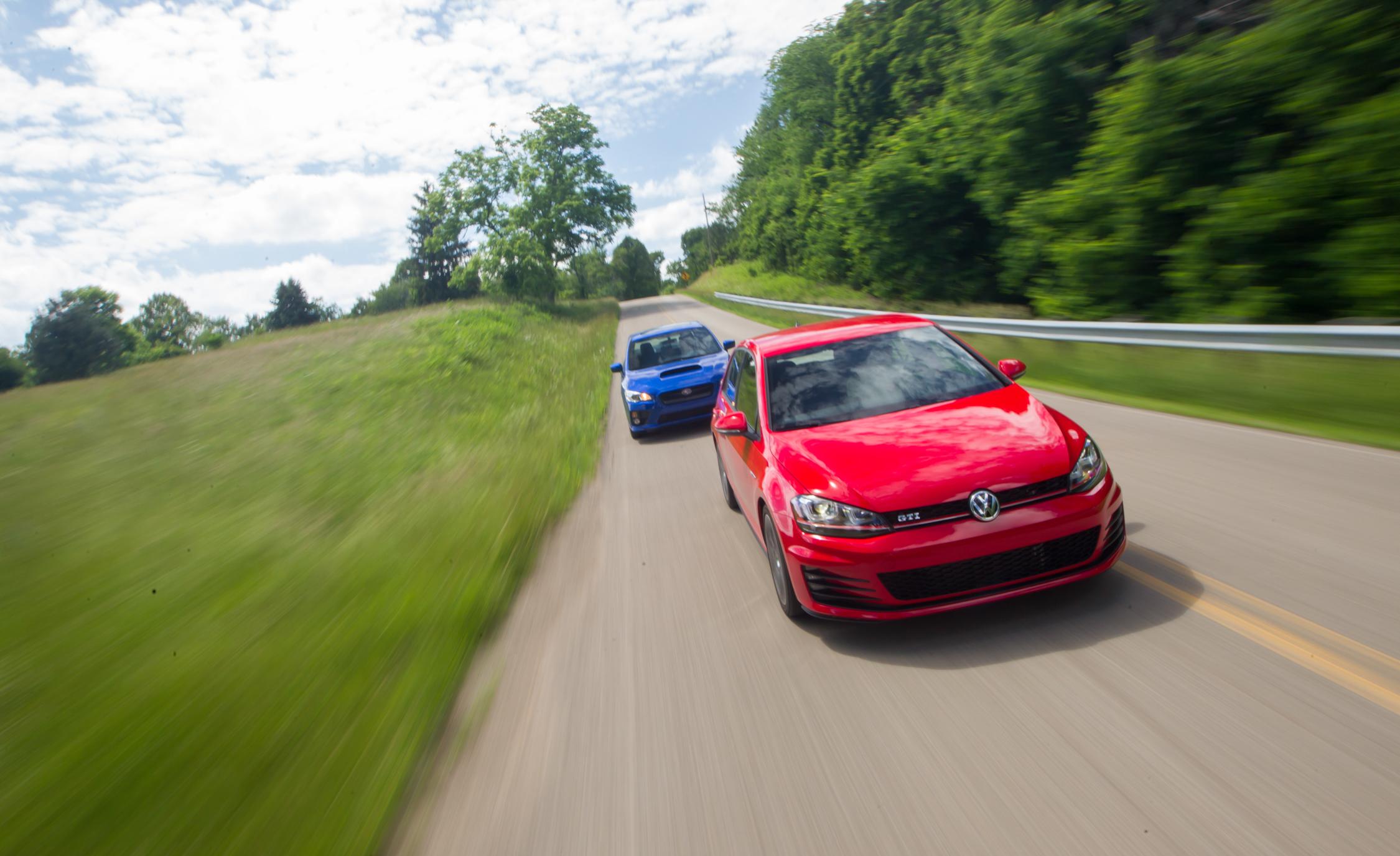 2015 Volkswagen GTI vs 2015 Subaru WRX Head 2 Head