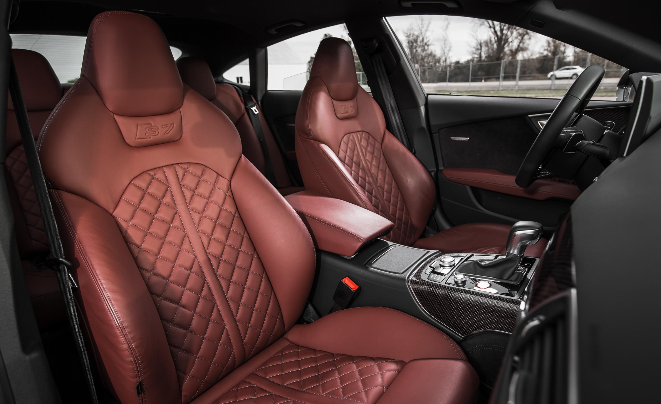 2016 Audi S7 Sedan Front Passenger Seat Interior