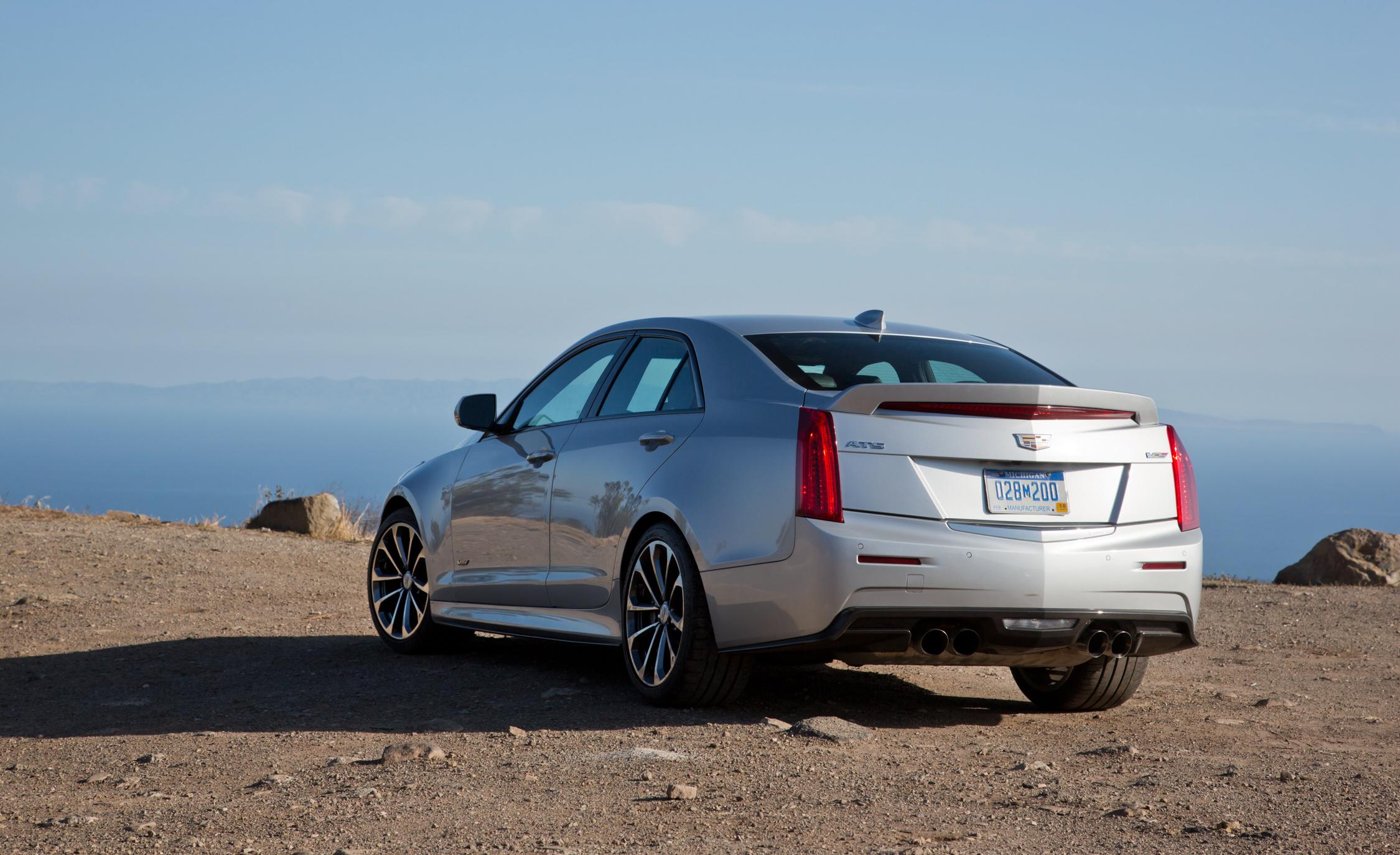 2016 Cadillac ATS-V Rear Side Exterior Design