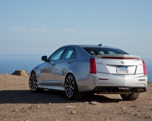 2016 Cadillac ATS-V Rear Side Exterior Design