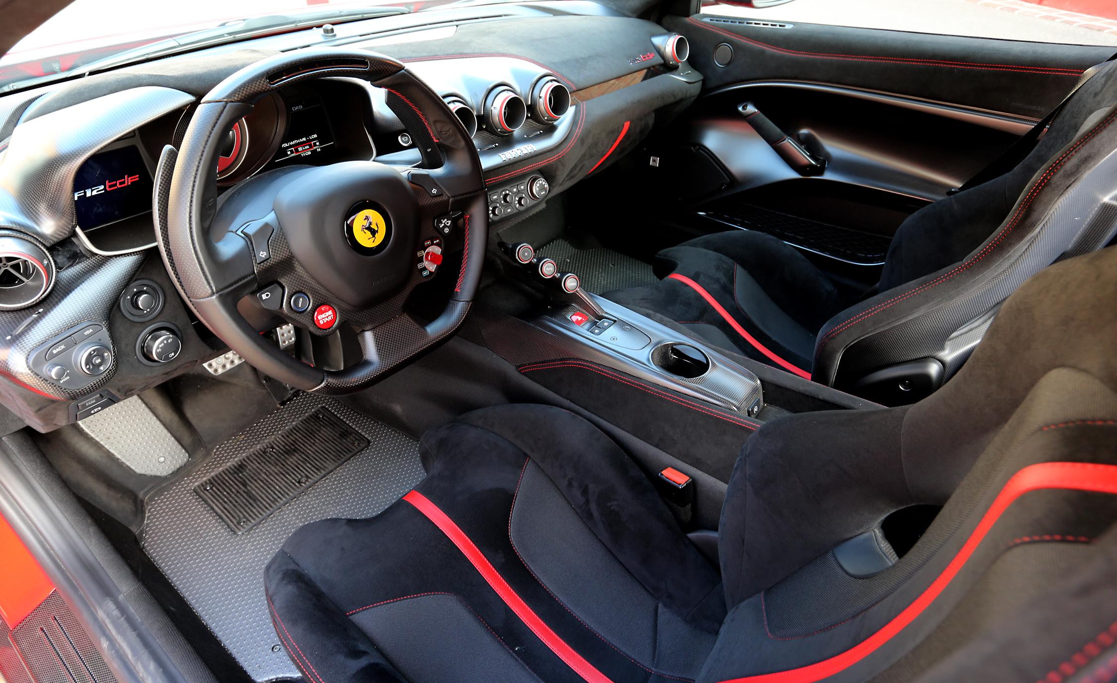 2016 Ferrari F12tdf Cockpit Interior