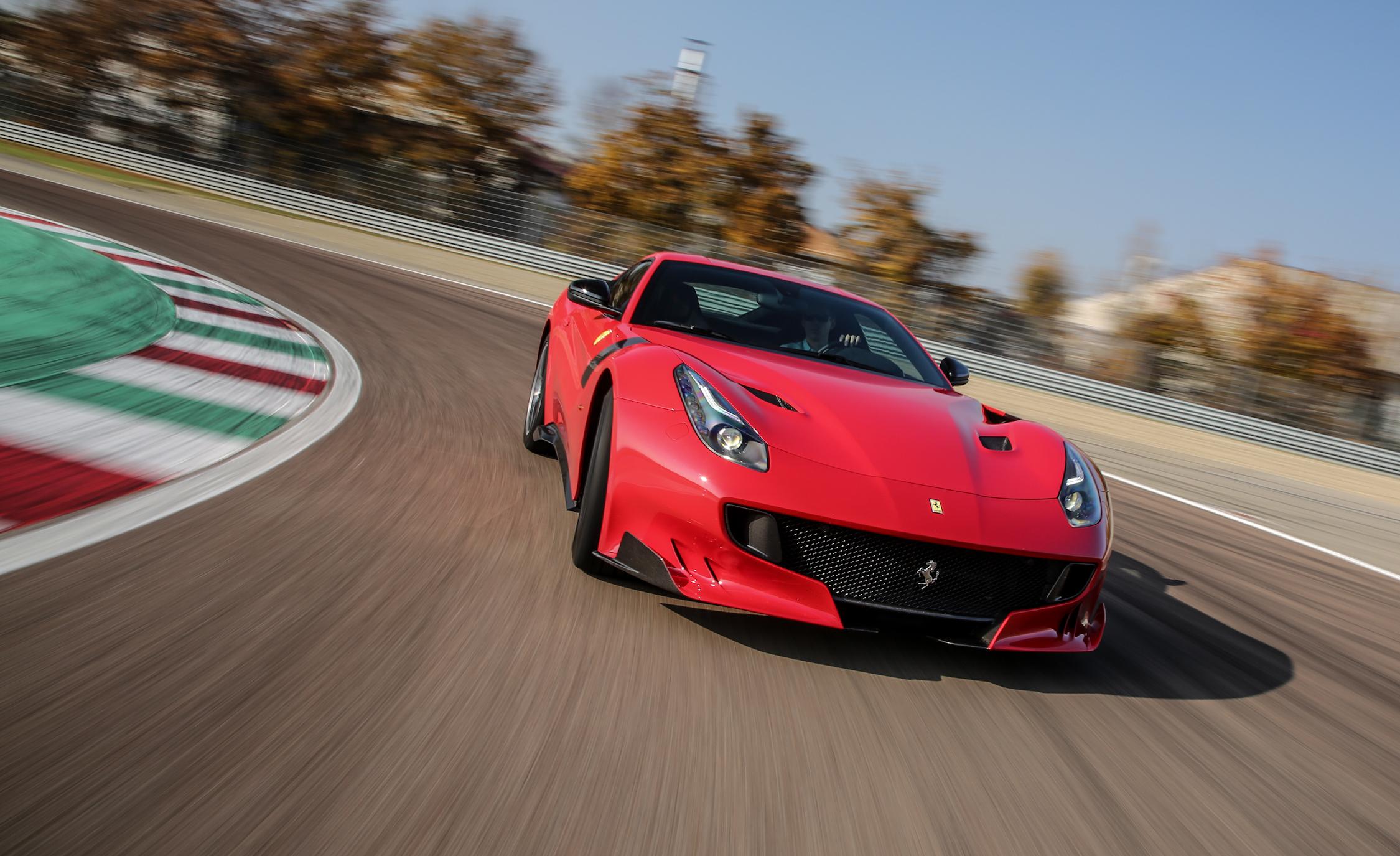2016 Ferrari F12tdf Performance Test