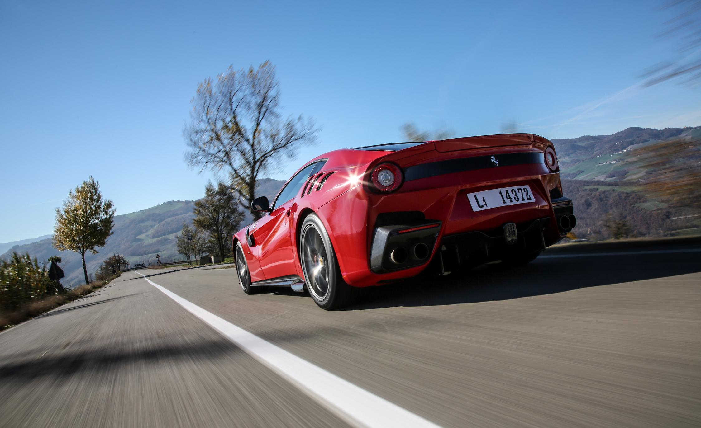 2016 Ferrari F12tdf Rear Body