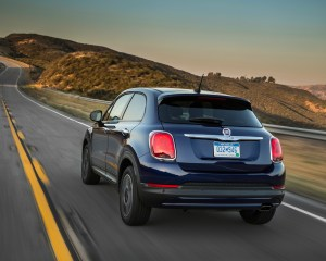 2016 Fiat 500X Easy Performance Rear View
