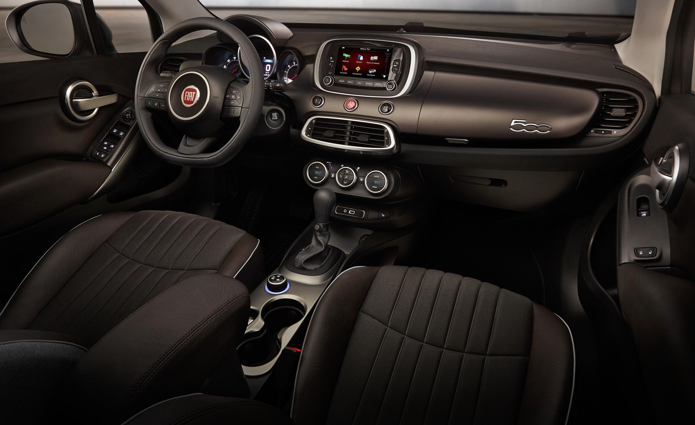 2016 Fiat 500X Lounge Interior Dashboard