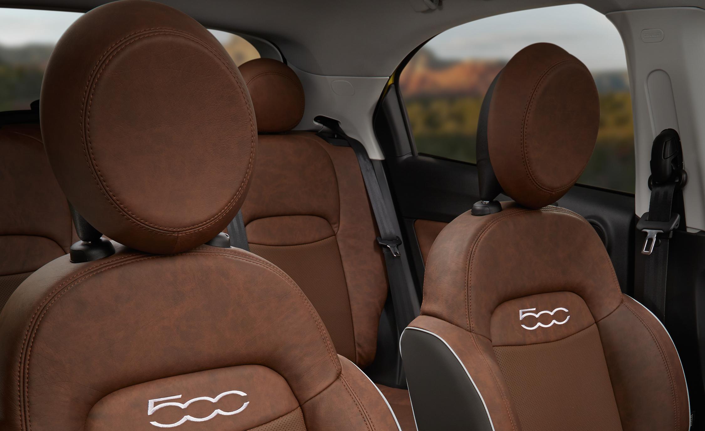 2016 Fiat 500X Trekking Plus Interior Seats
