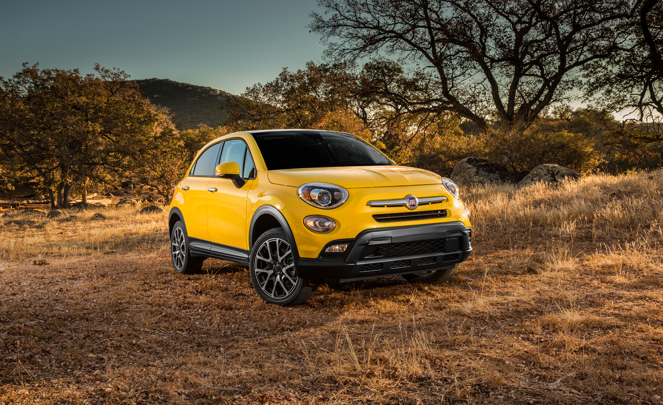 2016 Fiat 500X Trekking Plus Yellow Review