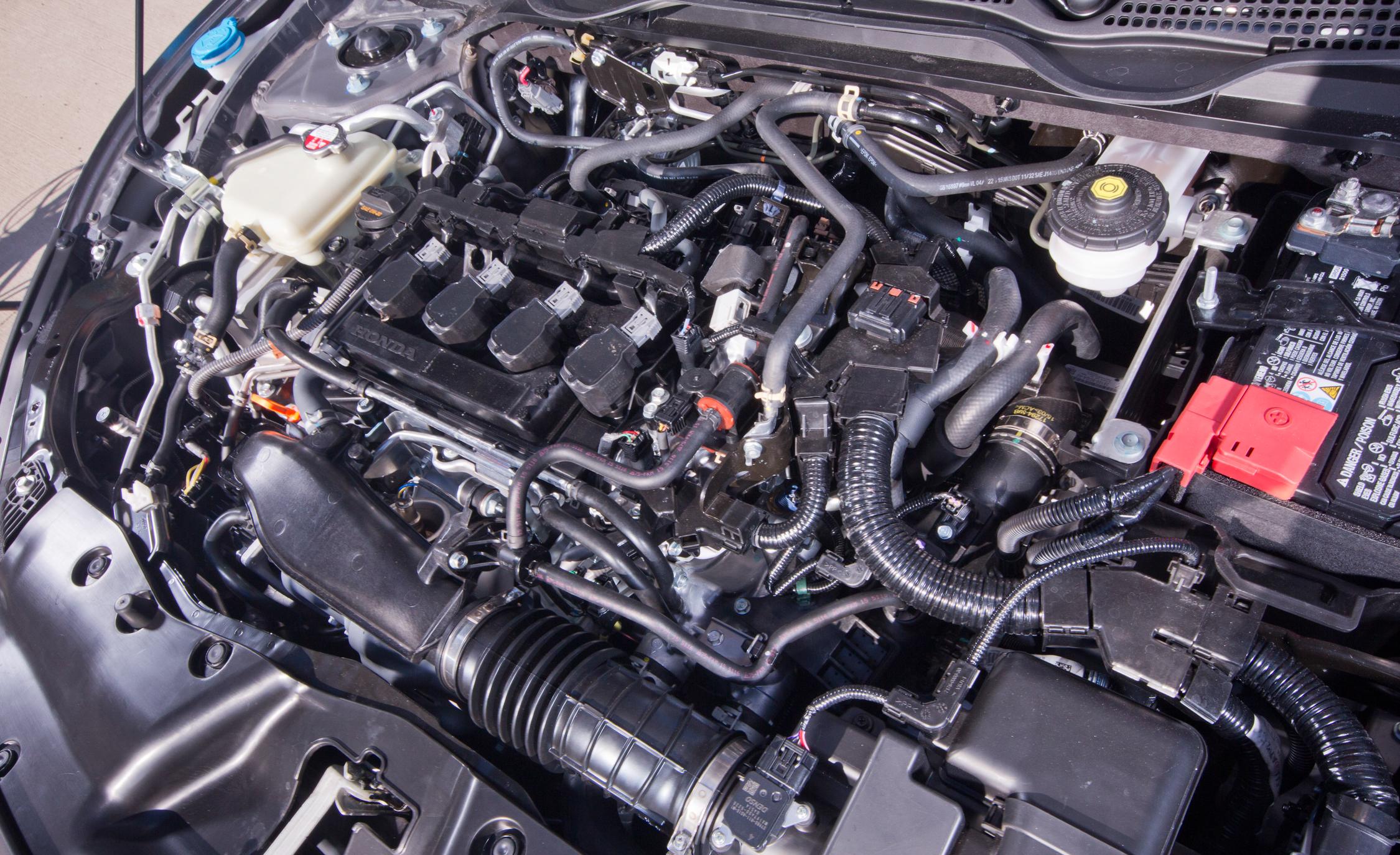 2016 Honda Civic Touring Turbocharged 1.5-L Inline-4 Engine