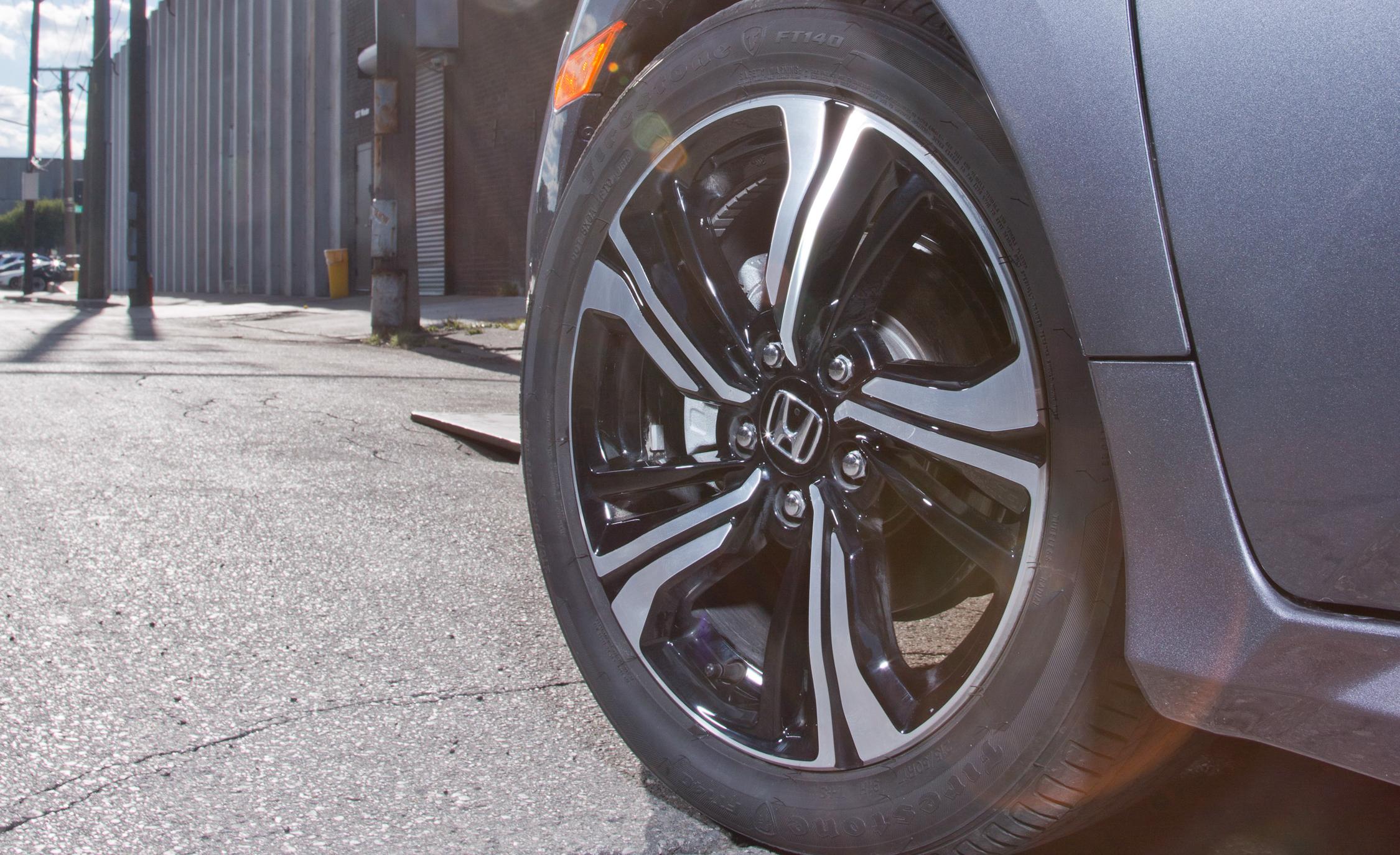 2016 Honda Civic Touring Exterior Wheel Trim