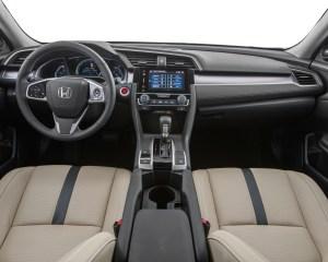 2016 Honda Civic Touring Sedan Interior