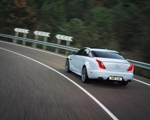 2016 Jaguar XJR Rear View