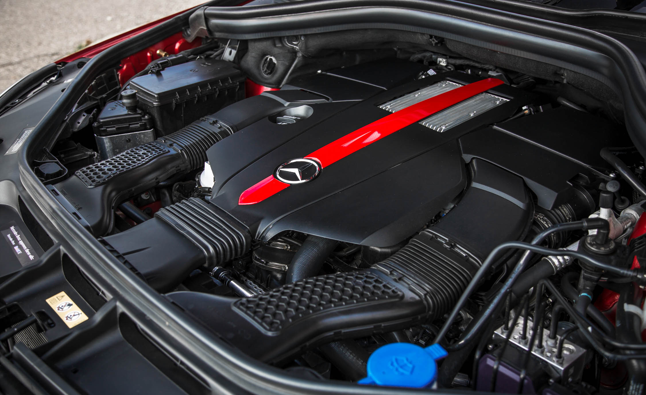 2016 Mercedes-Benz GLE450 AMG Coupe Engine Twin-Turbocharged 3.0-liter V-6