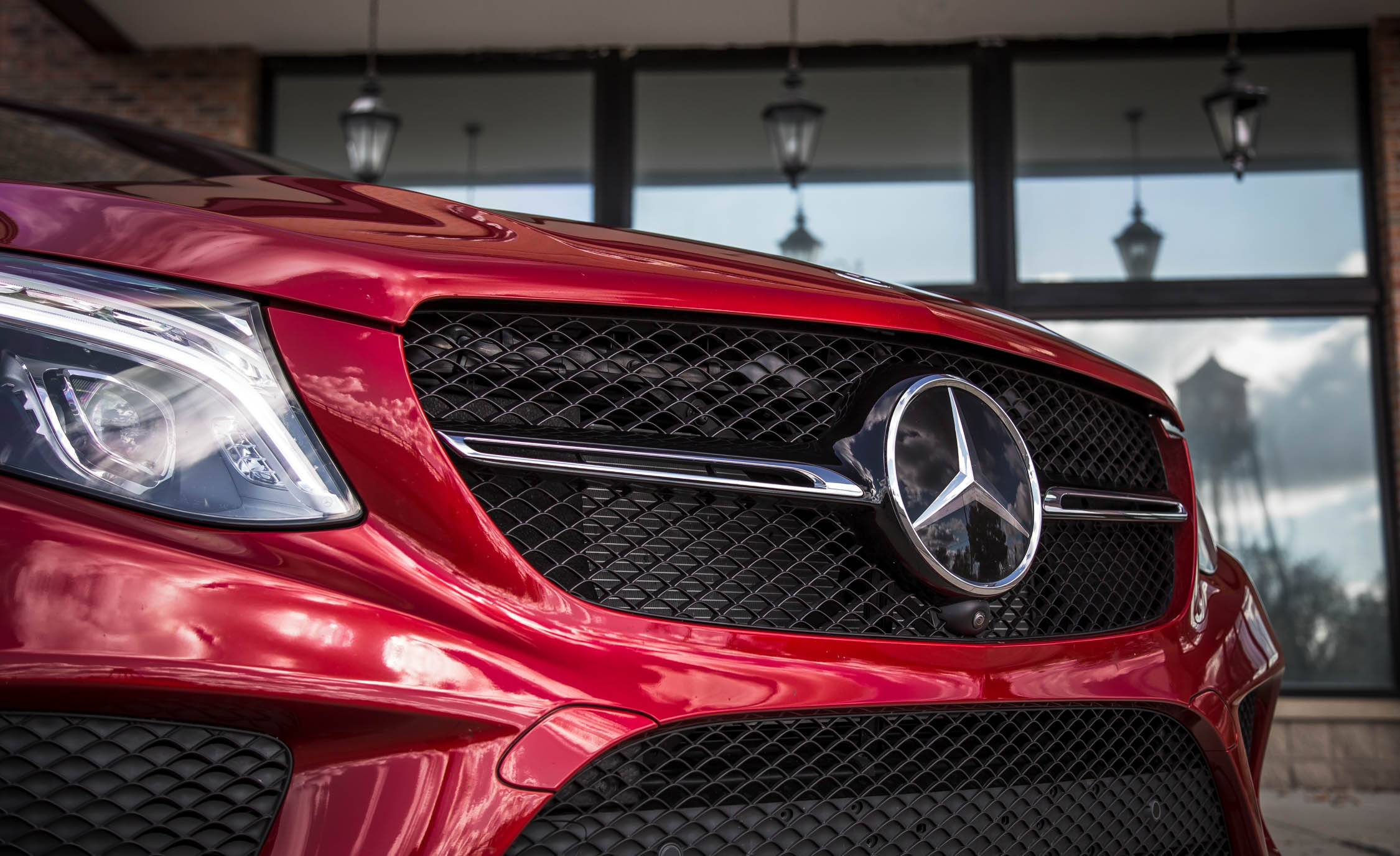 2016 Mercedes-Benz GLE450 AMG Coupe Exterior Grille