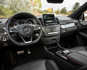 2016 Mercedes-Benz GLE450 AMG Coupe Interior
