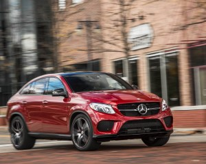 2016 Mercedes-Benz GLE450 AMG Coupe Test Front View