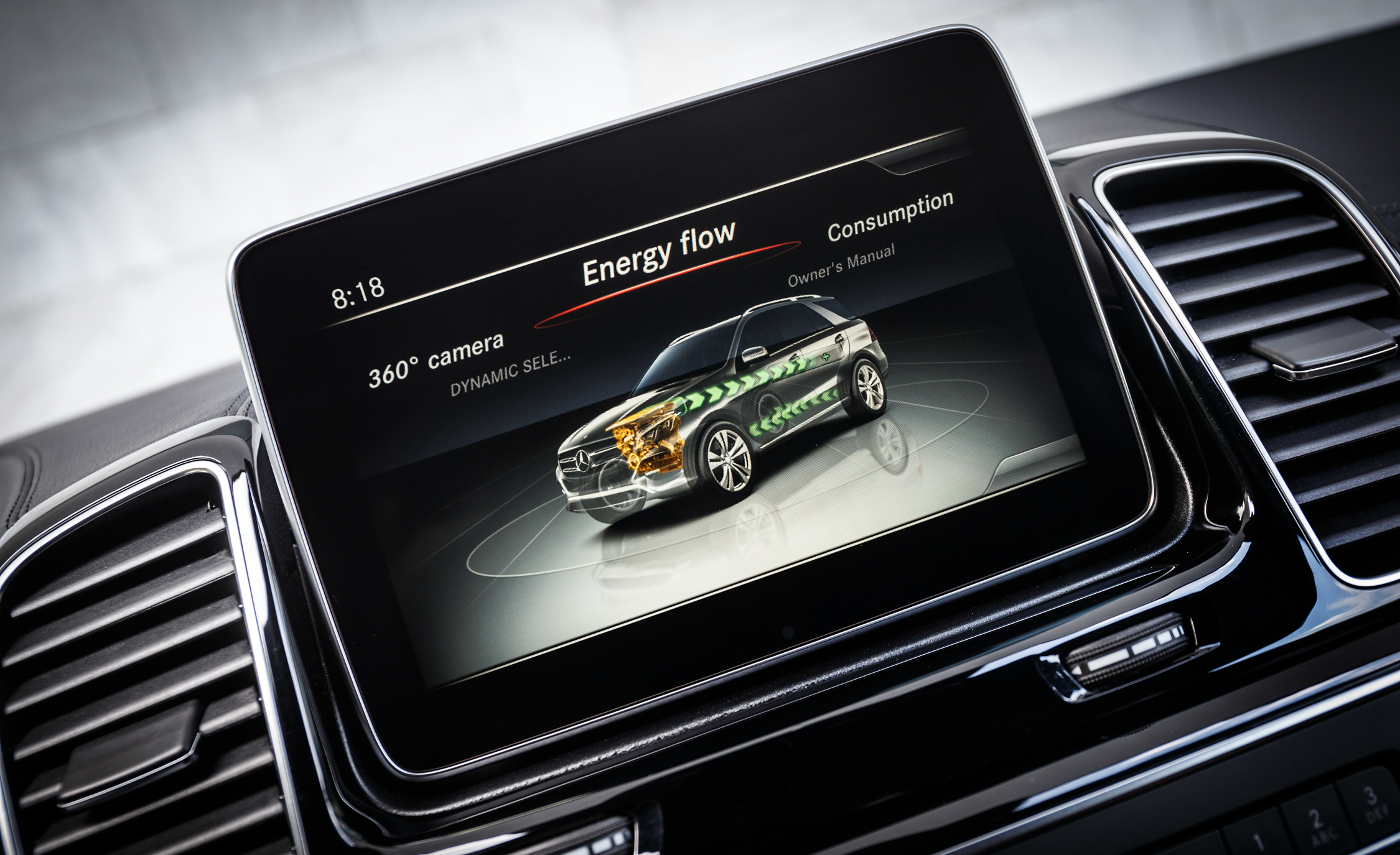 2016 Mercedes-Benz GLE500e 4MATIC Interior Head Unit