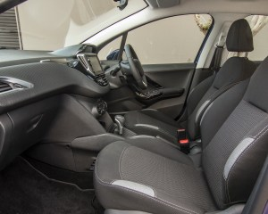 2016 Peugeot 208 Active Interior Seats