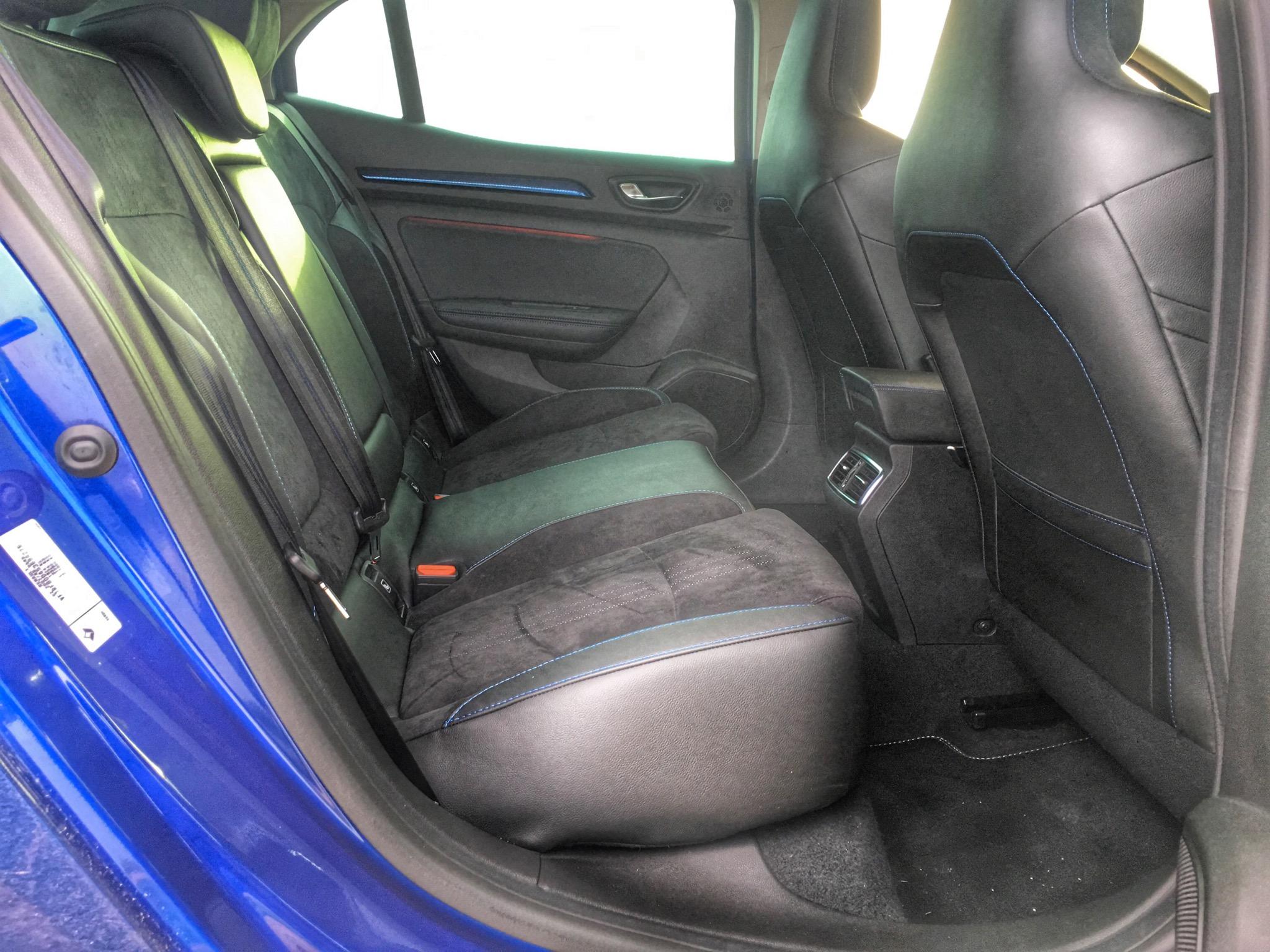 2016 Renault Megane GT Rear Seats Interior