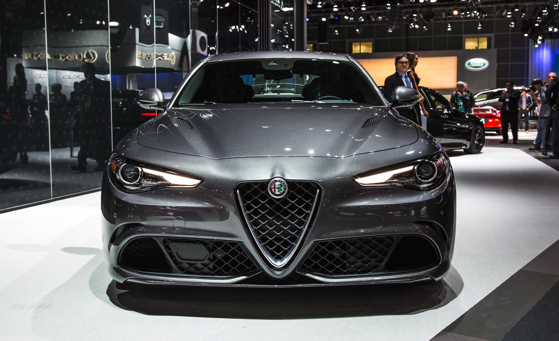 2017 Alfa Romeo Giulia Quadrifoglio Front End Exterior