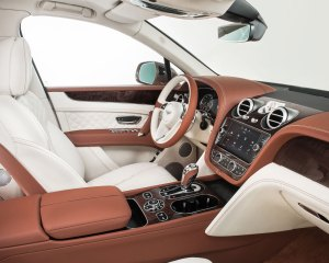 2017 Bentley Bentayga Front Seats Interior