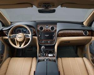 2017 Bentley Bentayga Interior Preview