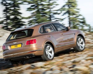 2017 Bentley Bentayga Off Road Test