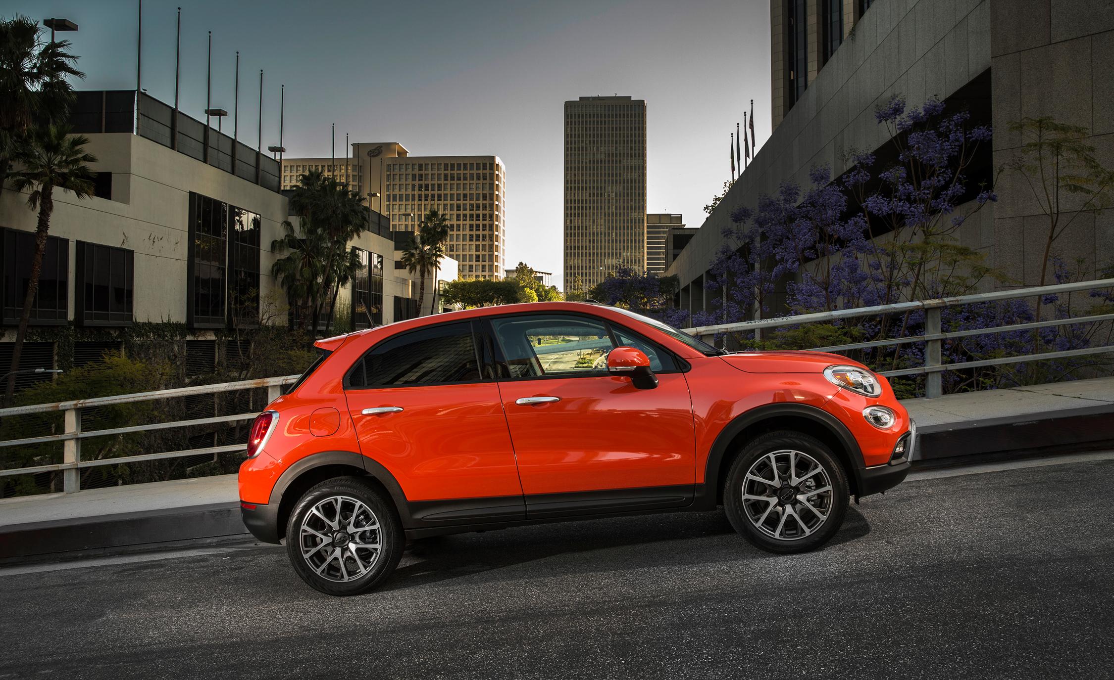Exterior Preview Fiat 500X Trekking Plus 2016