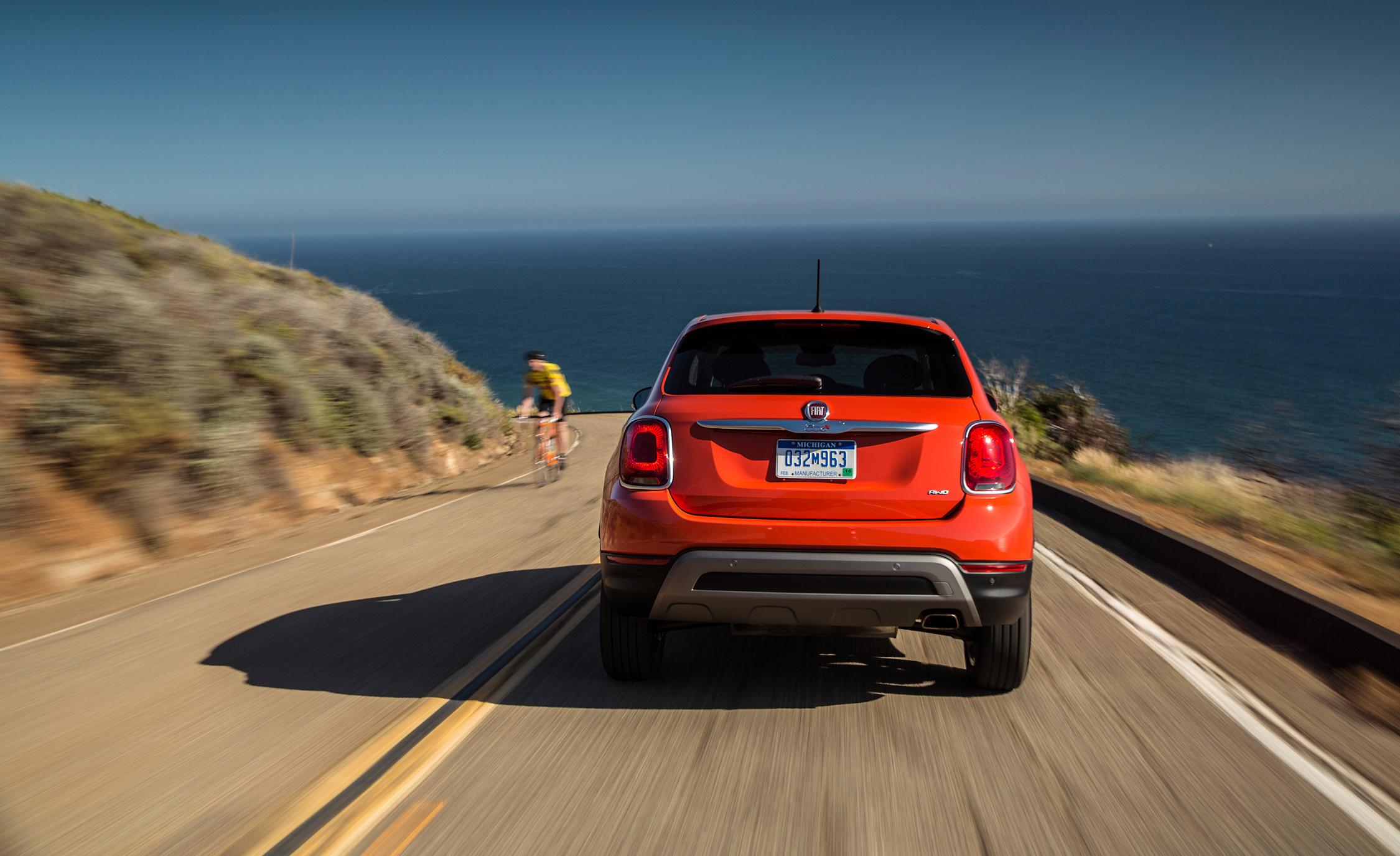 Exterior Rear View Fiat 500X Trekking Plus 2016