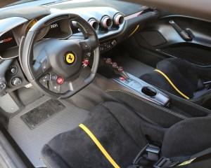 Ferrari F12tdf 2016 Cockpit Interior