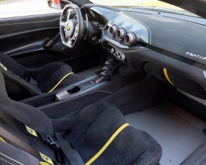 Ferrari F12tdf 2016 Dashboard Interior