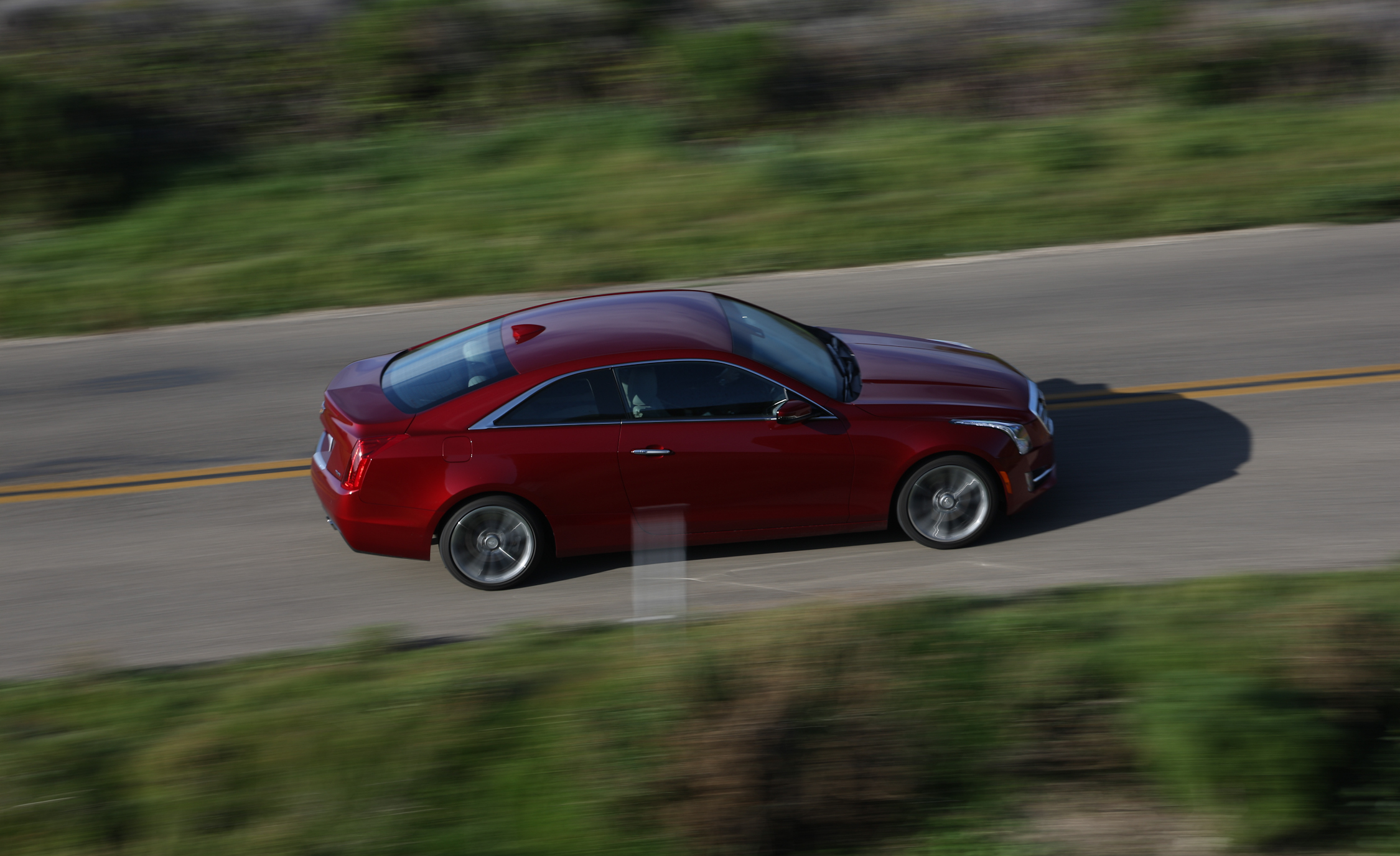 New Cadillac ATS Coupe 3.6 Top View