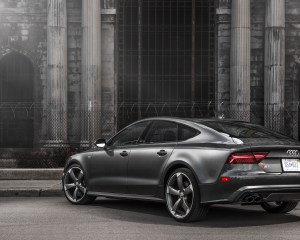 Rear Design Audi S7 Sedan 2016