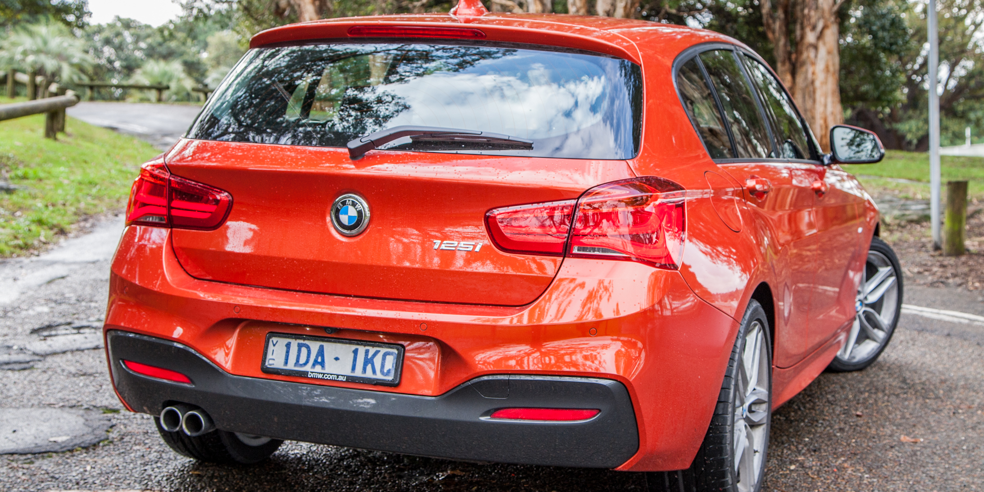 Rear Side Exterior 2015 BMW 125i