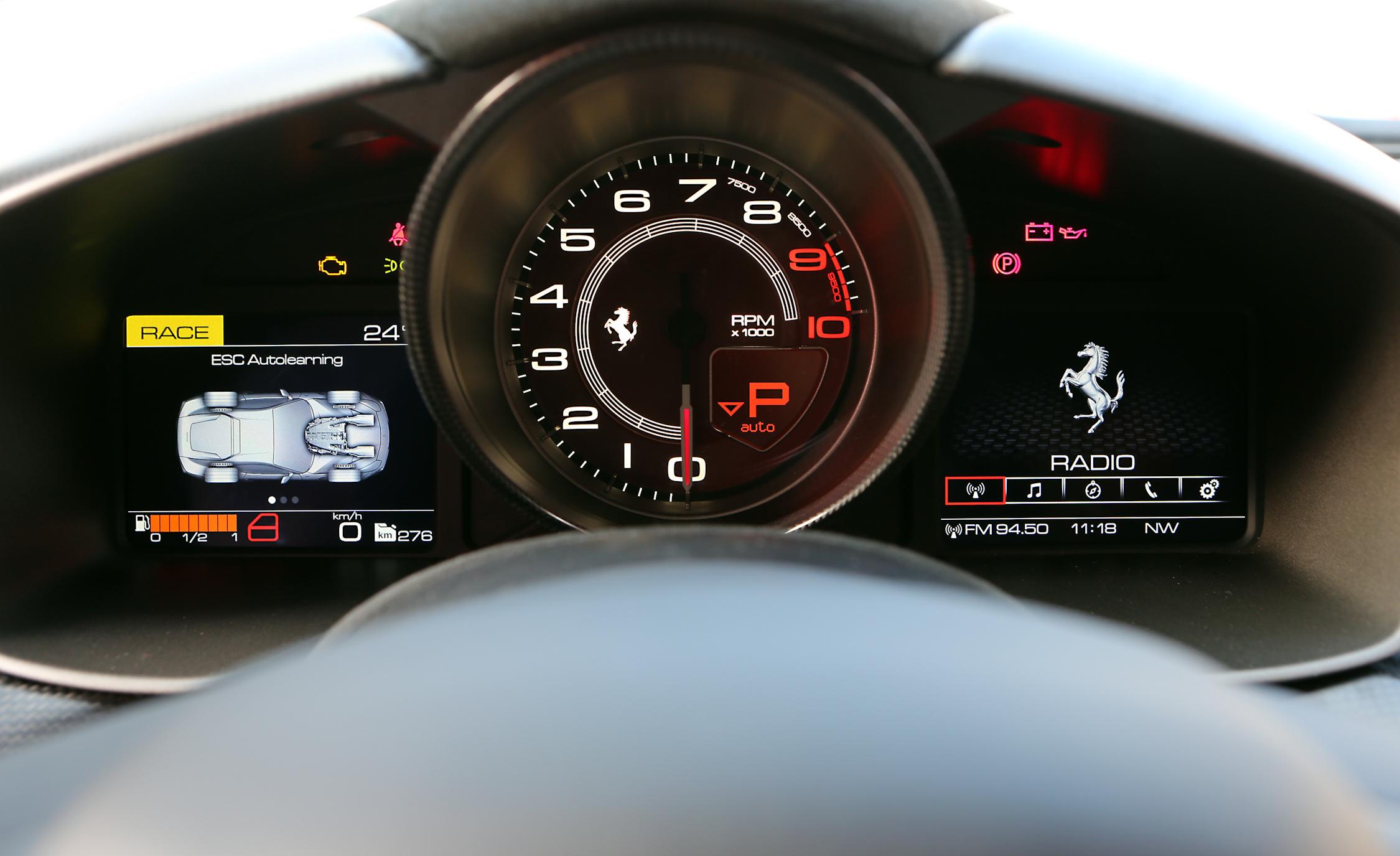 Speedometer 2016 Ferrari F12tdf
