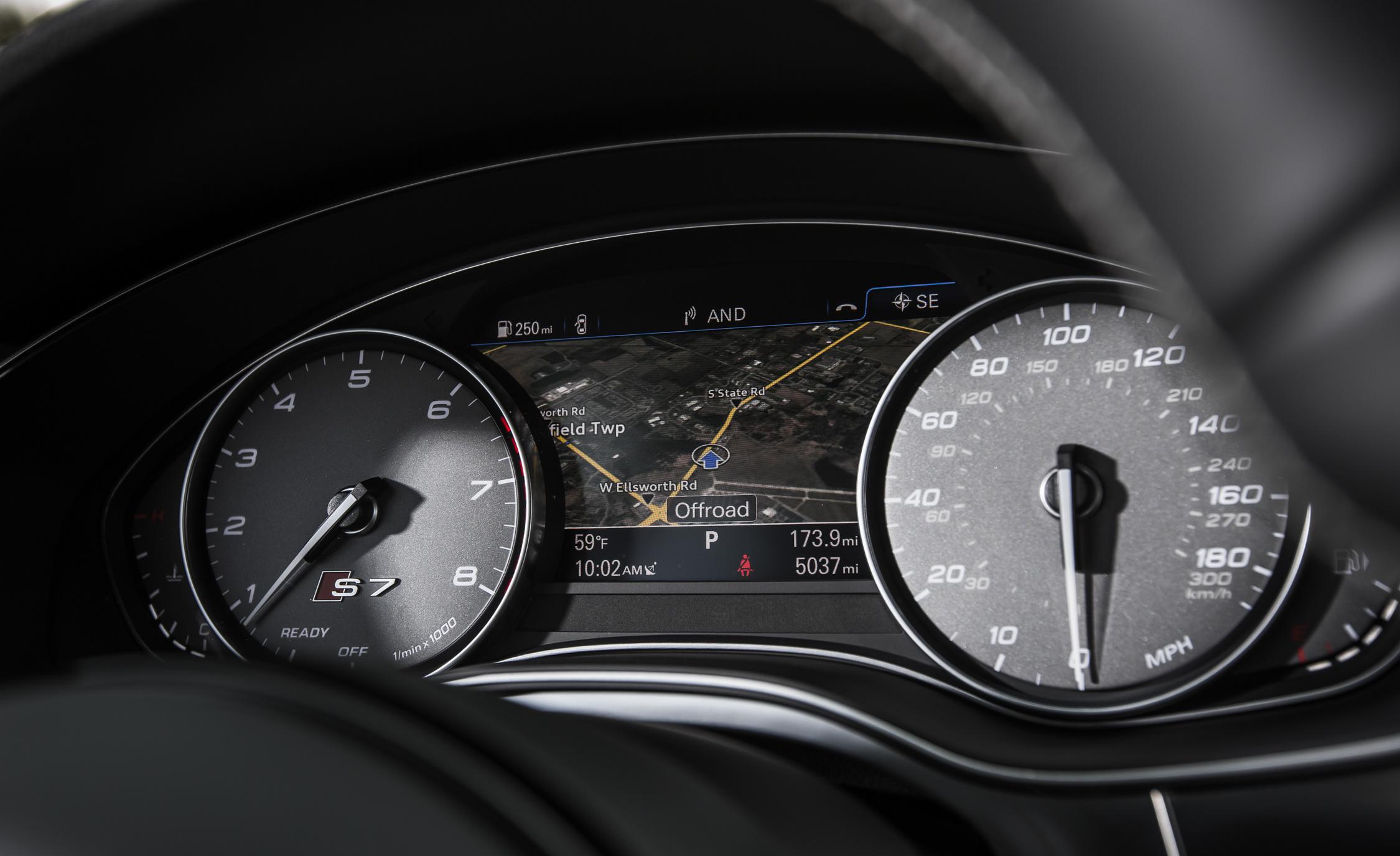 Speedometer Audi S7 Sedan 2016